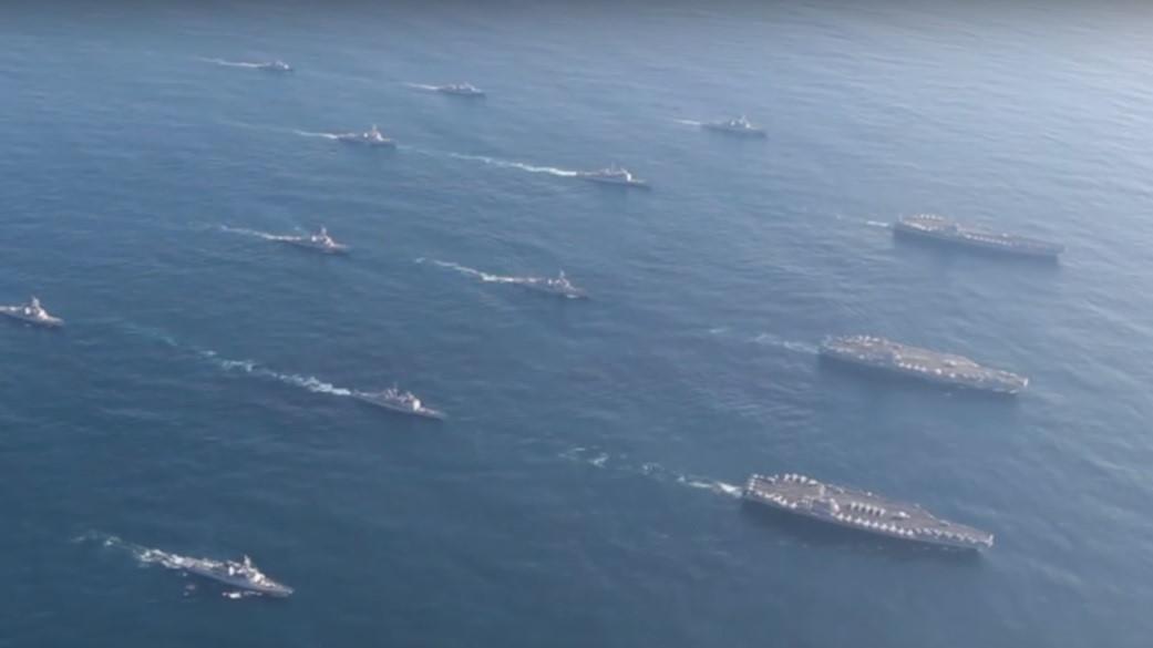 Toàn cảnh tập trận Mỹ - Hàn: 3 tàu sân bay Mỹ rầm rập tập trận sát Triều Tiên 2