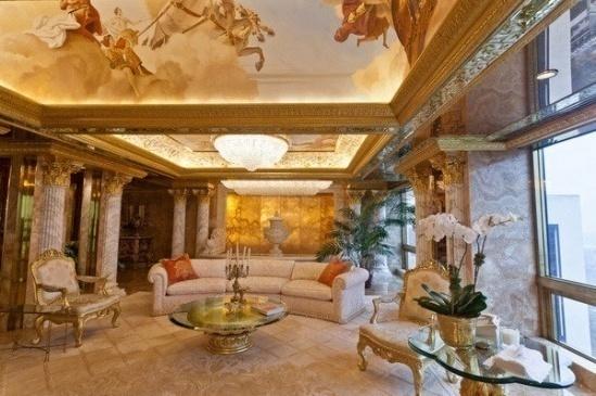 Hình ảnh Căn hộ dát vàng choáng ngợp của Tổng thống Mỹ Donald Trump số 2
