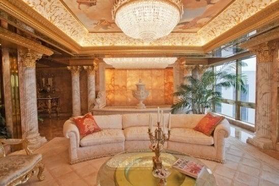 Hình ảnh Căn hộ dát vàng choáng ngợp của Tổng thống Mỹ Donald Trump số 4