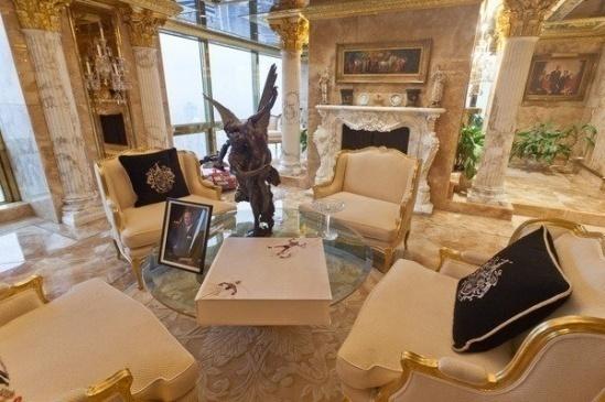 Hình ảnh Căn hộ dát vàng choáng ngợp của Tổng thống Mỹ Donald Trump số 8