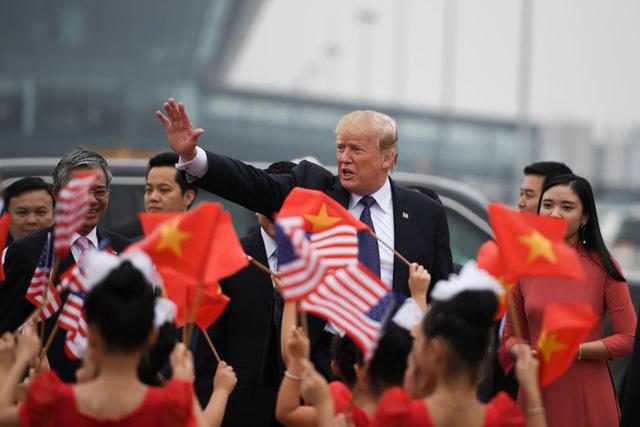 Việt Nam xuất hiện ngay đầu video cảm ơn châu Á của ông Trump 1