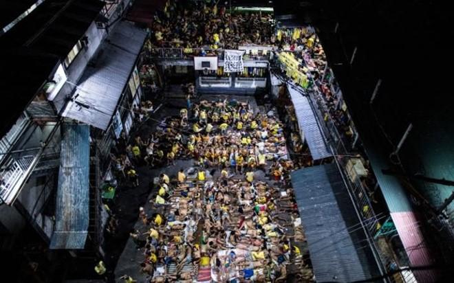 Thảm cảnh khủng khiếp bên trong nhà tù ở Philippines 1