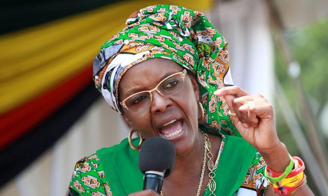 Chân dung và những điều ít biết về đệ nhất phu nhân tham vọng của Zimbabwe 1