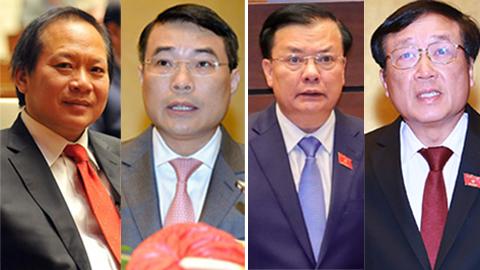 Bộ trưởng Tài chính và Thống đốc NHNN mở màn phiên chất vấn 2