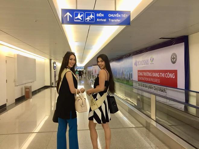 Có mặt chớp nhoáng tại Việt Nam trước khi lên đường sang Campuchia, Tân Hoa hậu Trái Đất gây thất vọng với nhan sắc kém nổi bật 3