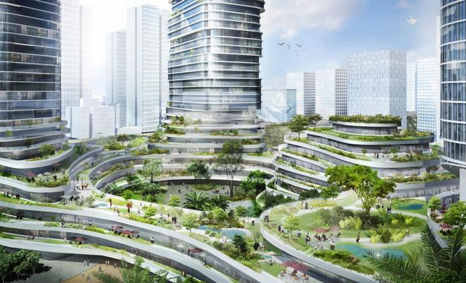 Vườn địa đàng trên tòa nhà tháp cao nhất Việt Nam 6