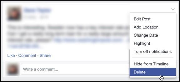 Facebook đã bỏ chức năng xóa status, hãy nghĩ kỹ trước khi thả thính! 1