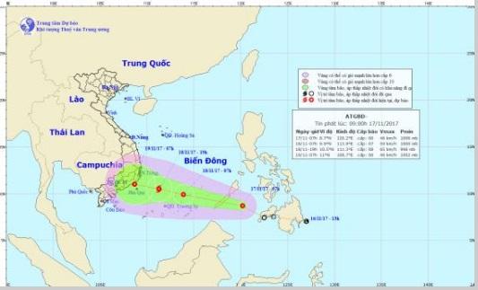 Áp thấp nhiệt đới vào biển Đông, miền Bắc đón rét 1