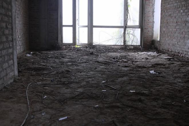 Nhiều kim tiêm dính máu bị vứt tràn lan trong khu biệt thự tiền tỷ ở Hà Nội 6