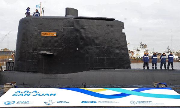 Tàu ngầm Argentina mất tích cùng 44 thủy thủ trong suốt 3 ngày 3