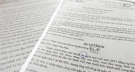 Trưởng phòng thanh tra Phòng chống tham nhũng bị bắt vì làm giả giấy tờ 1