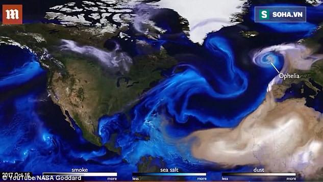 NASA nhìn được dòng chảy khí quyển: Siêu bão như Irma, Harvey cũng
