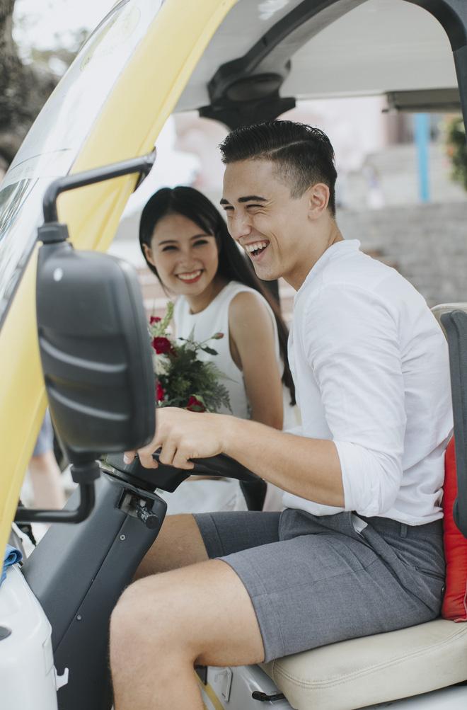 """Khiến MXH """"sục sôi"""" vì chụp ảnh cưới với chú rể đẹp như tài tử, cô dâu tiết lộ chuyện tình 1 năm ngọt ngào 8"""
