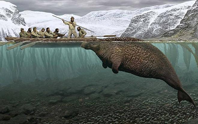 Phát hiện bộ xương không đầu của quái vật biển bí ẩn ở Nga 3