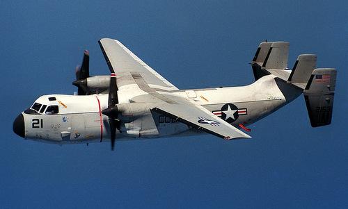 Máy bay hải quân Mỹ đâm xuống biển kéo theo 11 người trên khoang 1
