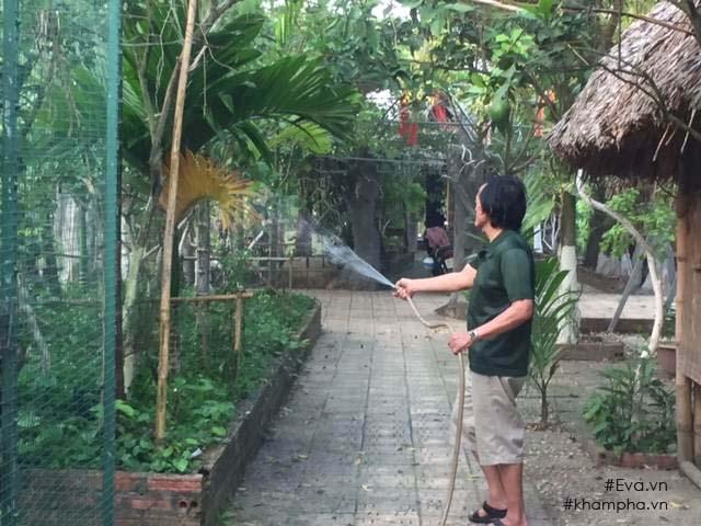 Cuộc sống 'cô đơn' của nghệ sĩ Giang Còi giữa nhà vườn 10.000 mét vuông 4