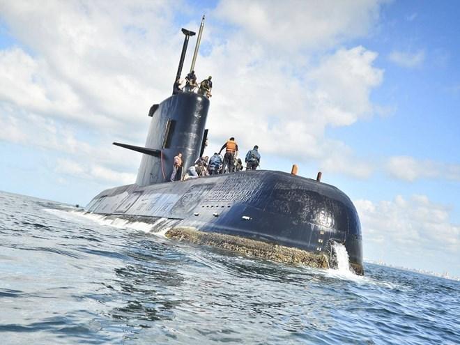 Tàu ngầm Argentina có thể đã chịu vụ nổ cực lớn trước khi biến mất 1