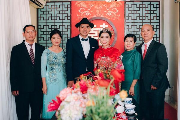 """Hình ảnh Dàn phù dâu và phù rể """"cực chất"""" trong trang phục Thượng Hải thời xưa số 3"""