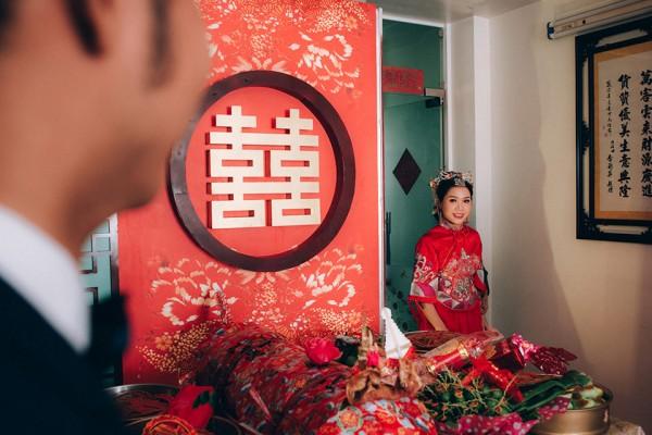 """Dàn phù dâu và phù rể """"cực chất"""" trong trang phục Thượng Hải thời xưa 5"""