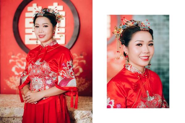 """Hình ảnh Dàn phù dâu và phù rể """"cực chất"""" trong trang phục Thượng Hải thời xưa số 6"""
