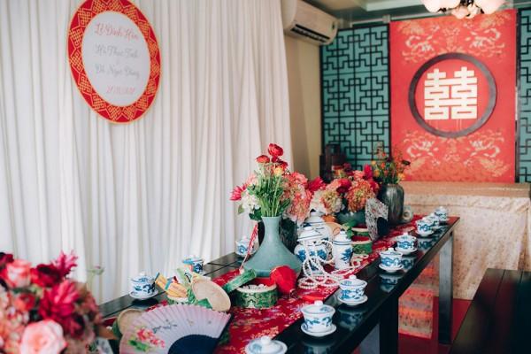 """Hình ảnh Dàn phù dâu và phù rể """"cực chất"""" trong trang phục Thượng Hải thời xưa số 9"""