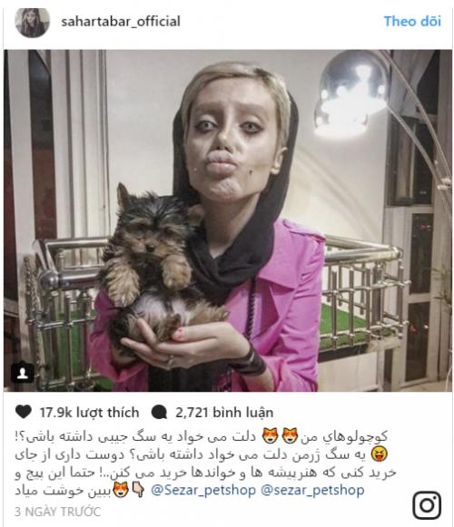 Hình ảnh Cô gái Iran phẫu thuật hơn 50 lần để giống Angelina Jolie nhưng lại hóa cô dâu ma số 6