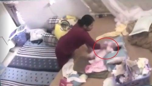 Khởi tố vụ bà giúp việc hành hạ bé gái hơn tháng tuổi ở Hà Nam 1