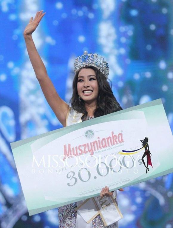 Hoa hậu Siêu quốc gia 2017: Đại diện Hàn Quốc giành vương miện, Khánh Phương dừng chân ở top 25 1