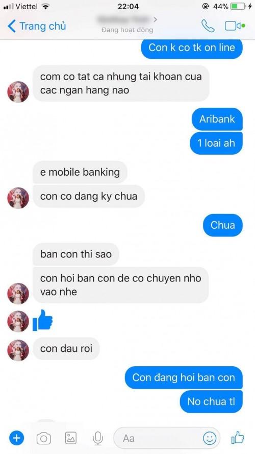 Fan bị lừa hàng chục triệu đồng từ Facebook mẹ ca sĩ Thanh Thảo 4