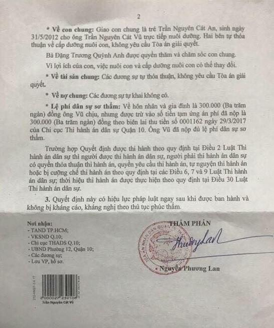 Tim từng khuyên Trương Quỳnh Anh ngừng