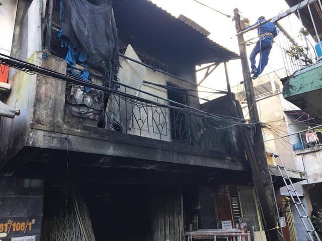 Ba mẹ con tử vong trong căn nhà cháy trụi ở Sài Gòn 2