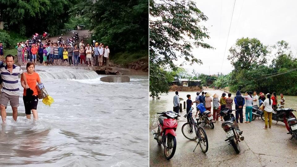 Phú Yên: Lũ lên nhanh, trưởng thôn bị lũ cuốn mất tích 2
