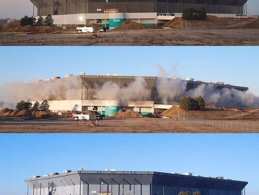 Gài mìn quanh sân vận động, nổ xong cả tòa nhà vẫn đứng trơ trơ 1