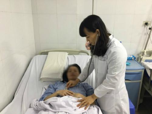 Hy hữu: Người phụ nữ mang thai trong lá lách đầu tiên tại Việt Nam 1