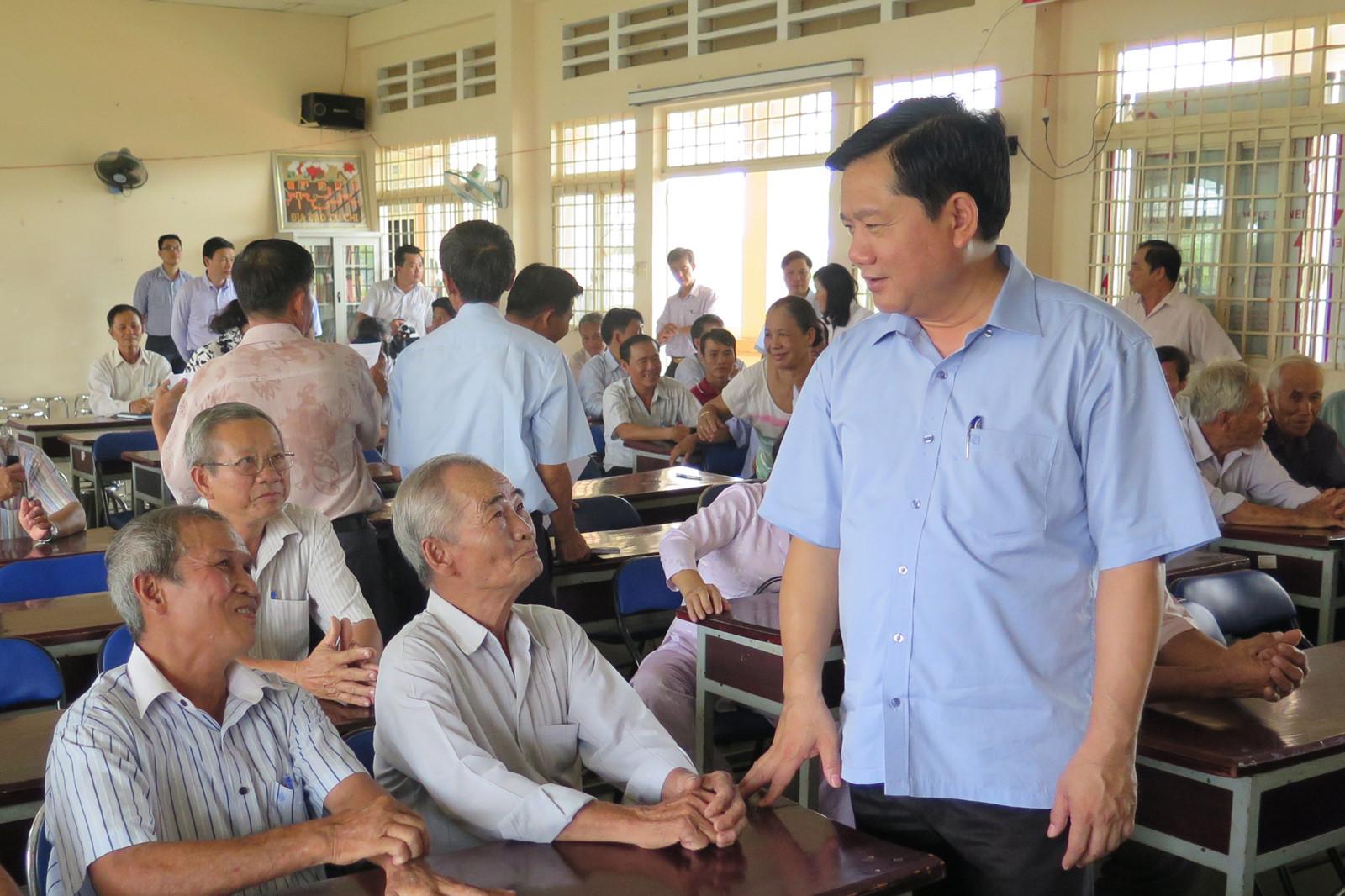 Cử tri TP.HCM bày tỏ sự đồng tình, nhất trí cao trước việc khởi tố ông Đinh La Thăng 1