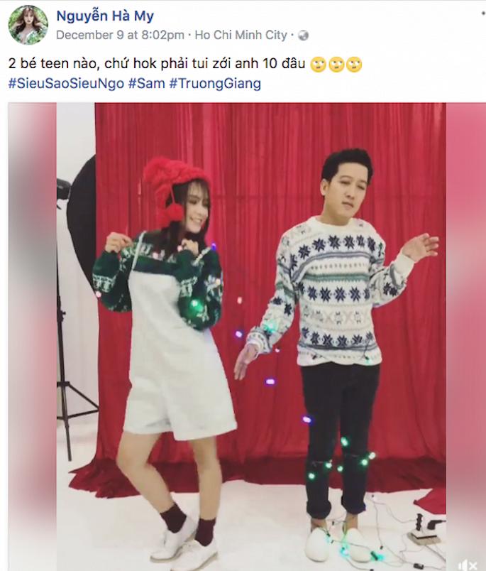 Rộ tin Trường Giang chia tay Nhã Phương, hẹn hò hot girl Sam 1