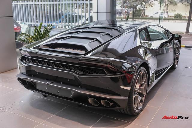 Lamborghini Huracan màu đen đầu tiên Việt Nam đã có chủ nhân 10