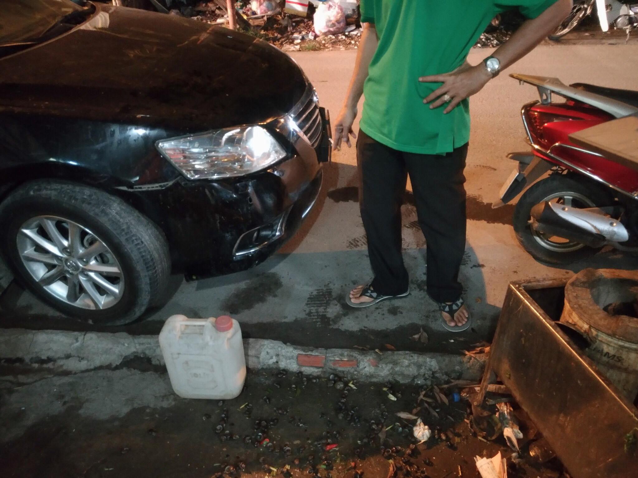 """Ôtô đâm vào quán ốc ở Sài Gòn, tài xế ô tô còn khoe """"gia đình có người làm lớn"""" 2"""