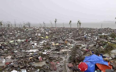 Bão Kai-tak khiến 27 người Philippines bị chôn vùi 1