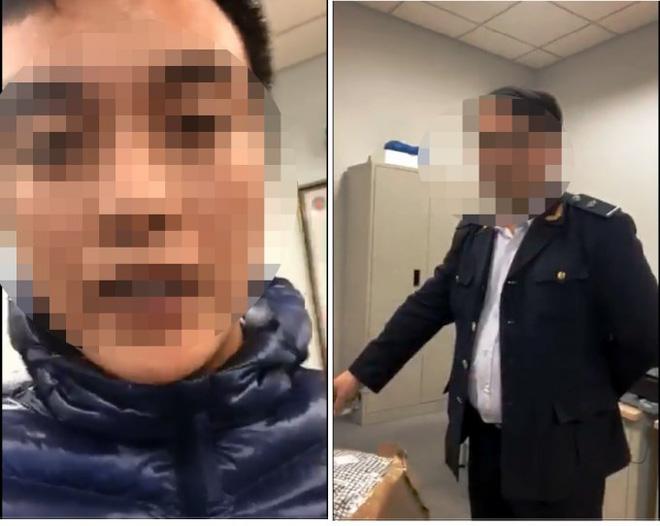 """Vụ clip """"làm luật"""" ở sân bay Nội Bài: 2 nhân viên hải quan bị tạm đình chỉ công tác 1"""