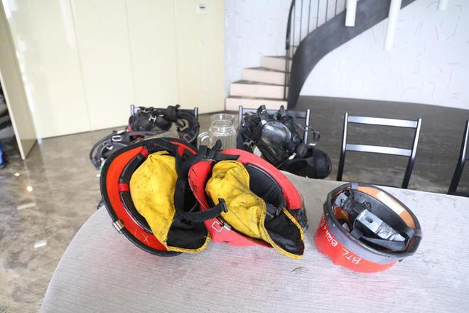 Bên trong tầng 25 - nơi phát ra đám cháy tại chung cư cao cấp 13