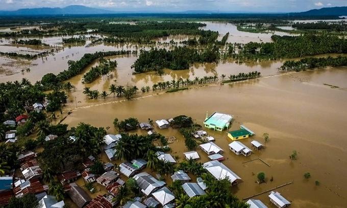 Hình ảnh Bão Tembin khiến 200 người thiệt mạng ở Philippines số 1