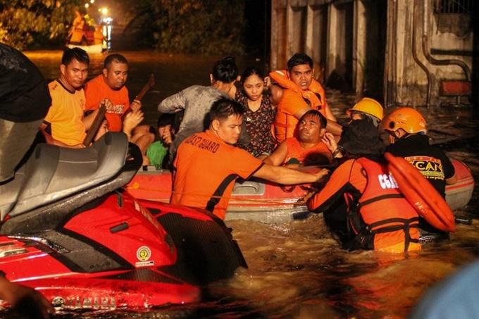 Hình ảnh Bão Tembin khiến 200 người thiệt mạng ở Philippines số 2