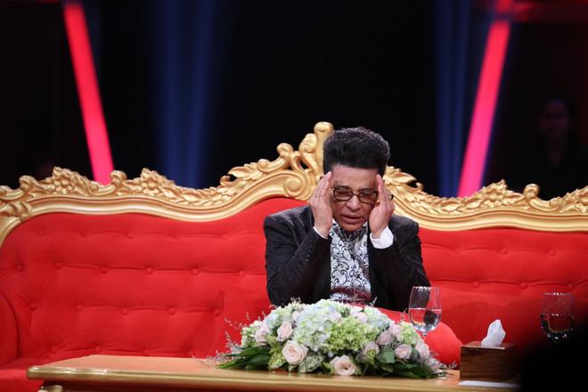 Thanh Bạch bật khóc: