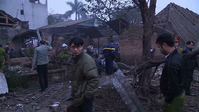 Hiện trường vụ nổ làm 9 người thương vong, nhiều đầu đạn vương vãi khắp nơi 3