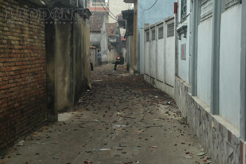 Hàng nghìn đầu đạn vương vãi tại hiện trường vụ nổ ở Bắc Ninh 2