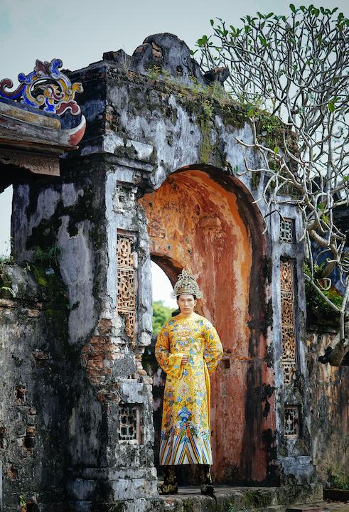 Ngọc Tình, Khánh Ngân tái hiện hình ảnh vương triều Huế xưa 4