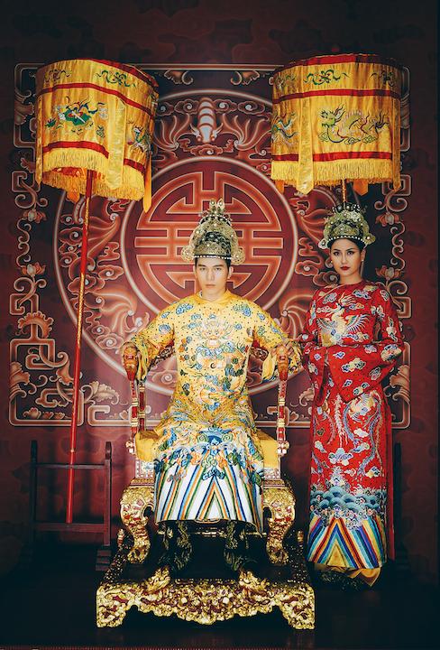 Ngọc Tình, Khánh Ngân tái hiện hình ảnh vương triều Huế xưa 2
