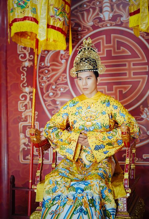 Ngọc Tình, Khánh Ngân tái hiện hình ảnh vương triều Huế xưa 5