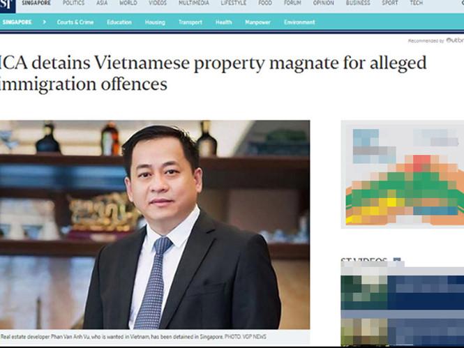 Bị Singapore trục xuất, Phan Van Anh Vu đang trên chuyến bay về Việt Nam 1